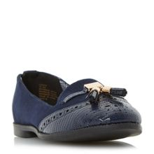 Head Over Heels Lumier tassel brogues