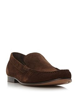 Racer moccasin loafers