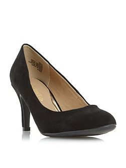 Annie round toe court shoes