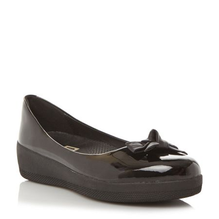FitFlop Pretty bow supe bow ballerina shoes
