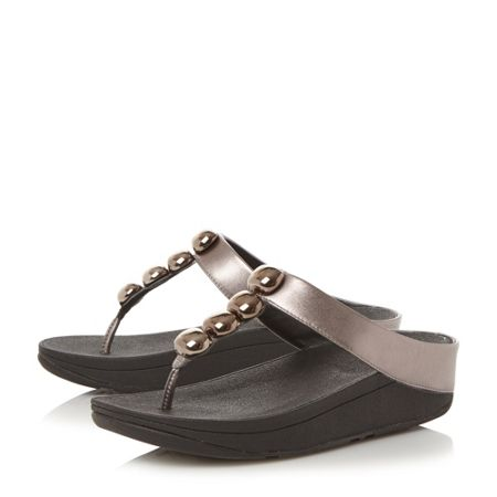 FitFlop Rola jewel toepost sandals