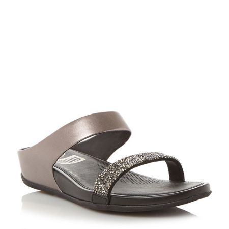 FitFlop Banda roxy embellished wedges