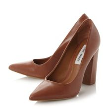 Steve Madden Primpy block heel pointed courts