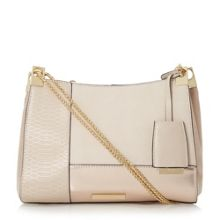 Dune Datch metallic patchwork bag