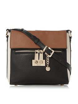 Diaz colour block cross body bag