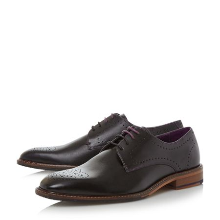 Ted Baker Marar punched derby formal shoes
