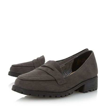 Head Over Heels Gissell heavy cleated loafers