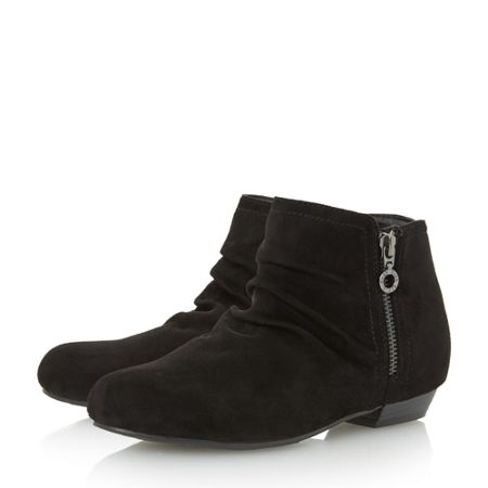 Head Over Heels Pammy side zip detail ankle boots