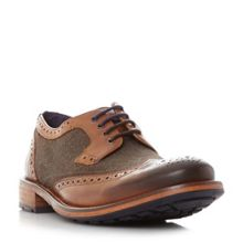 Ted Baker Cassius 4 wool detail brogue shoes