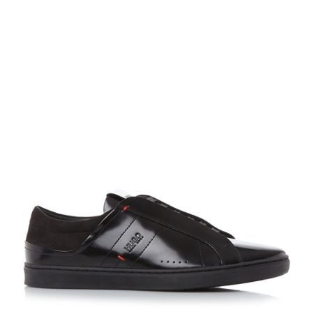 Hugo Boss Post tenn closed facing trainers