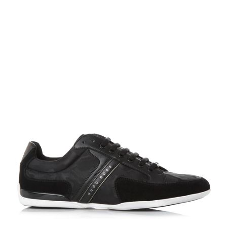 Hugo Boss Space low quilted trainers