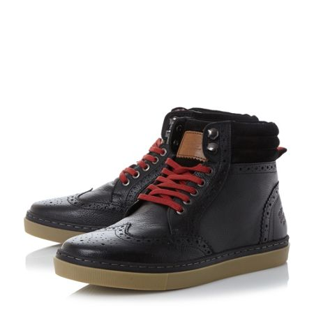 Original Penguin Huntsman cupsole brogue boots