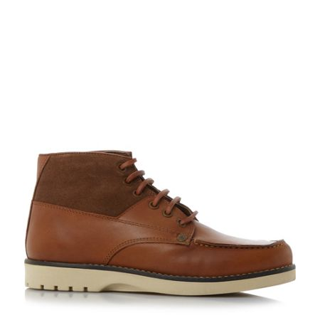 Original Penguin Jailer leather suede combo boots