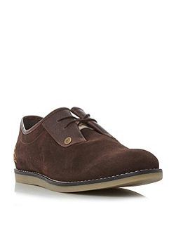 Lead suede casual shoes