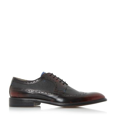 Oliver Sweeney Ossington high shine leather brogue shoe