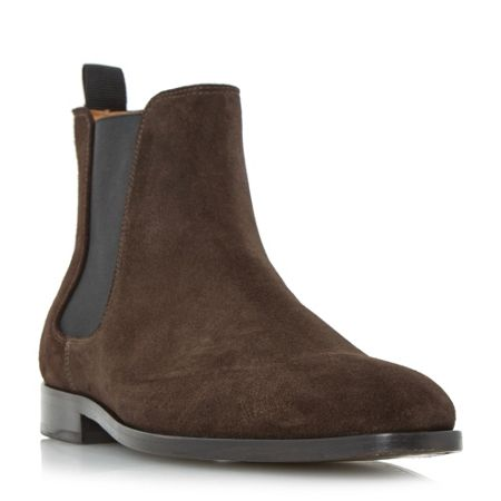 Paul Smith London Gerald chisel toe formal chelsea boots