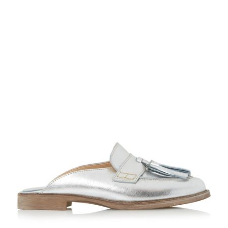 Dune Gee backless flat loafers