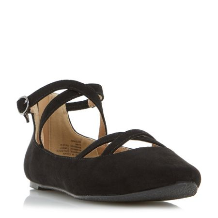 Head Over Heels Helenna pointed maryjane ballerinas