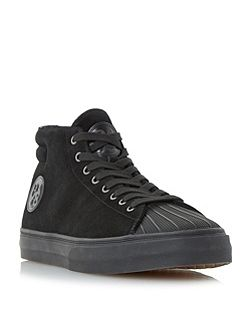 Mcghee suede high top trainers
