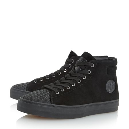 Paul Smith London Mcghee suede high top trainers