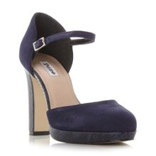 Dune Chia platform block court shoes