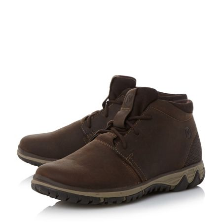 Merrell All out waxy lea chukka boots