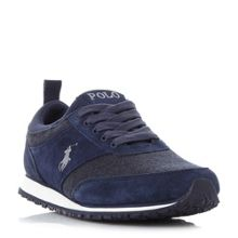 Polo Ralph Lauren Ponteland contrast trainers