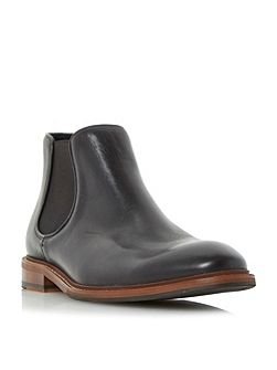 Menica natural sole chelsea boots