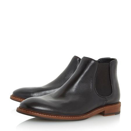 Dune Menica natural sole chelsea boots