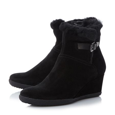Geox Amelia stival  wedge ankle boots