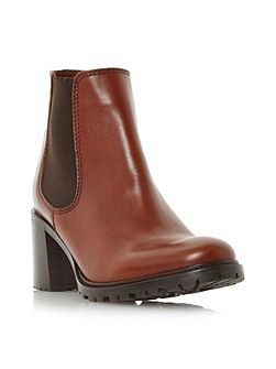Podrick cleated chelsea boots