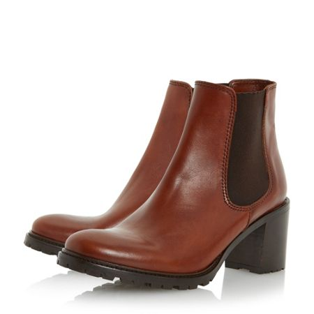 Dune Podrick cleated chelsea boots