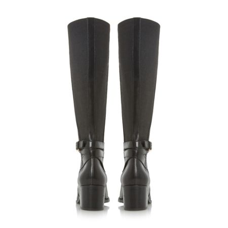 Dune Vivv stretch back knee high boots