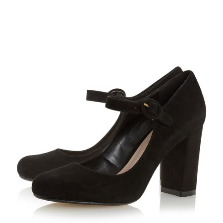 Dune Armorel mary jane block court shoes