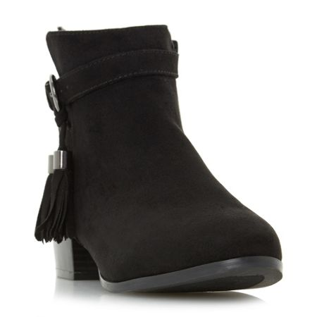 Head Over Heels Patrice tassle ankle boots