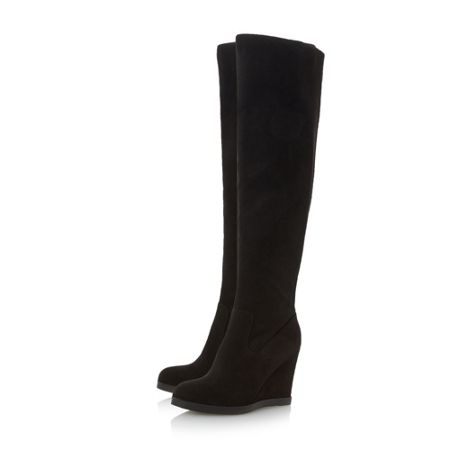 Head Over Heels Sonia wedge heel over the knee boots