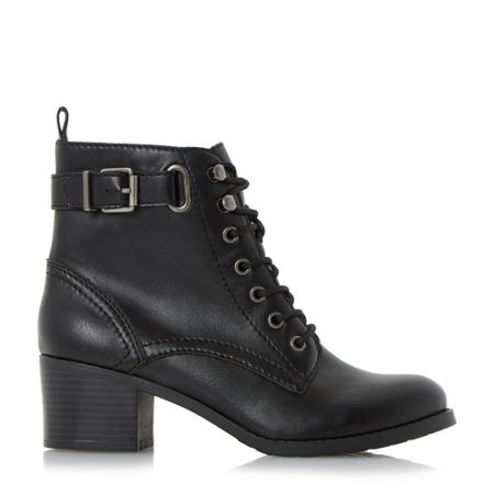 Head Over Heels Priya ankle strap buckle boots