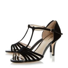 Linea Minette strappy t-bar dressy sandals