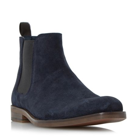 Howick Misile suede chelsea boot