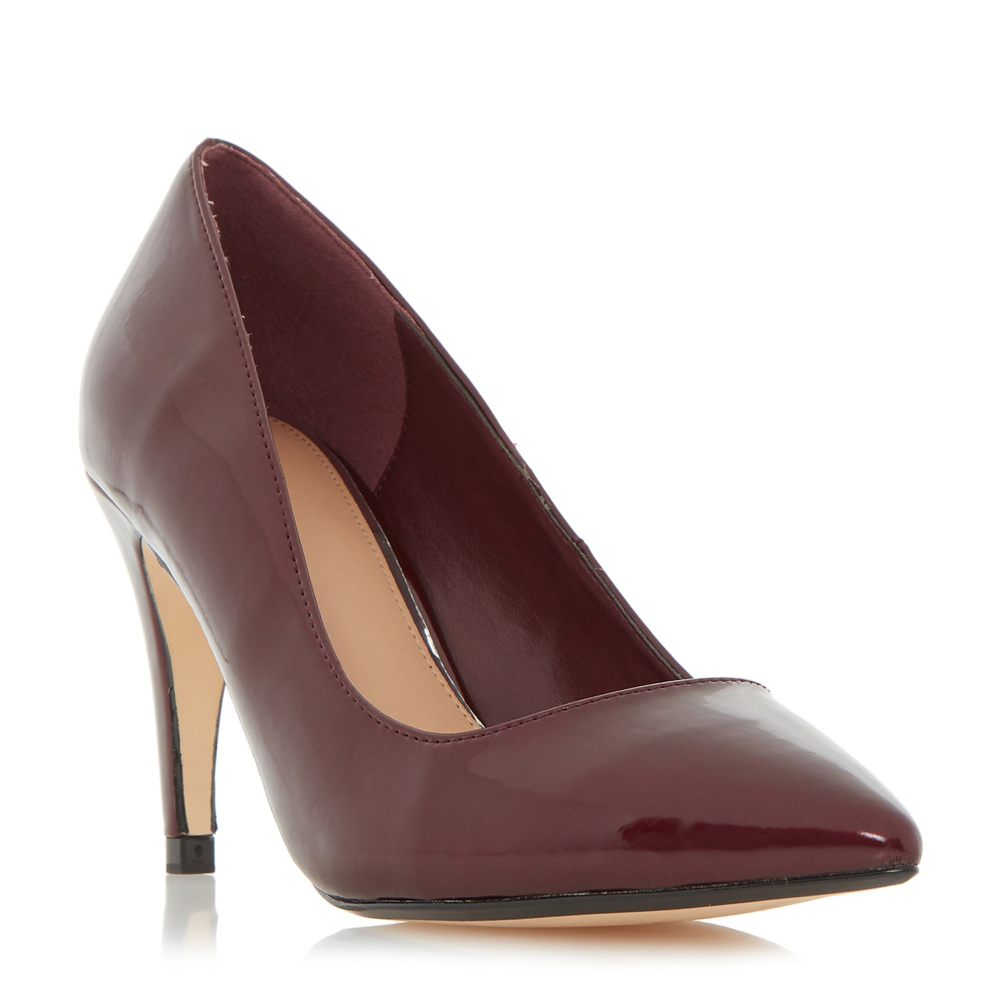 Linea Anette pointed court shoes, Red