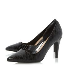 Linea Dacota semi-d`orsay point toe court shoe