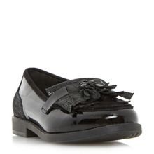 Dune Goodie tassel fringe loafers