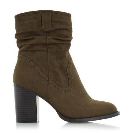 Head Over Heels Railey slouch calf boots