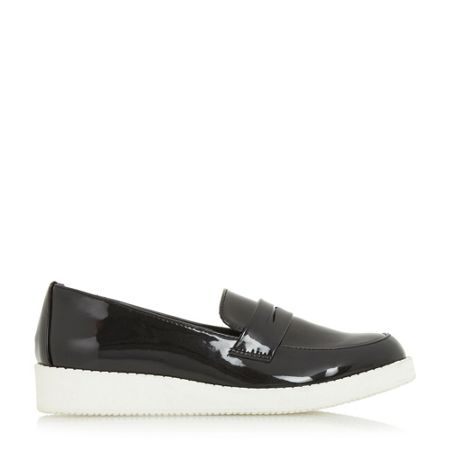 Head Over Heels Glider white eva sole loafers