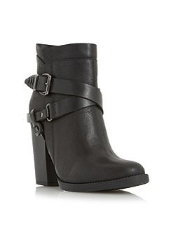 Posey strappy western boots