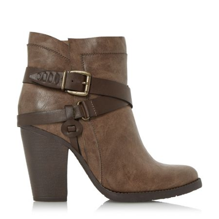 Head Over Heels Posey strappy western boots