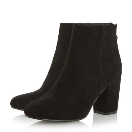 Head Over Heels Olive block heel ankle boots
