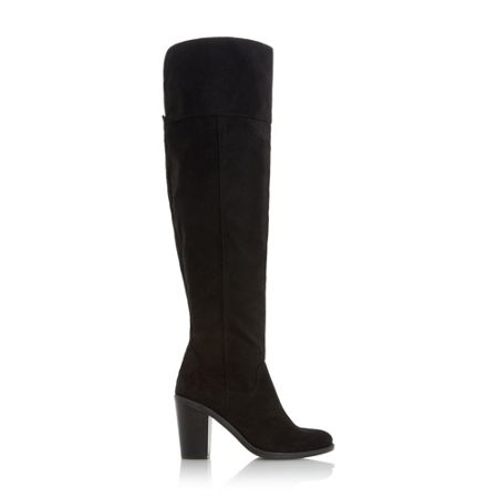 Head Over Heels Trin heeled over the knee boots
