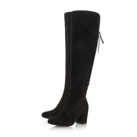 Head Over Heels Sammia back laced over the knee boots