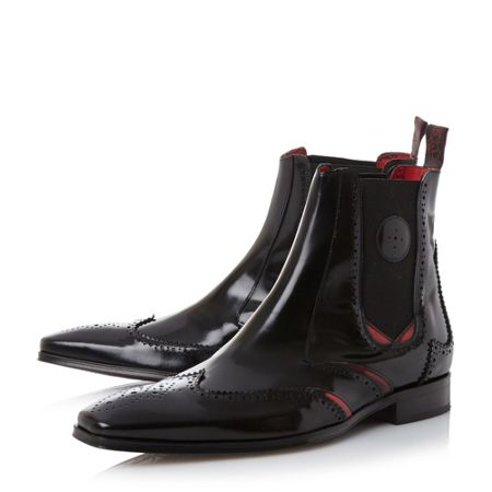Jeffery West J936 wingtip brogue chelsea boots